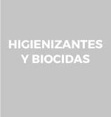 botón a higienizantes y biocidas