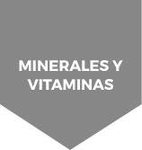 estas en minerales y vitaminas